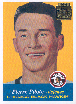 2001-02 Topps Archives #7 Pierre Pilote