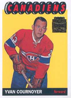 2001-02 Topps Archives #29 Yvan Cournoyer