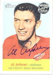 2001-02 Topps Heritage Autographs #AAA Al Arbour