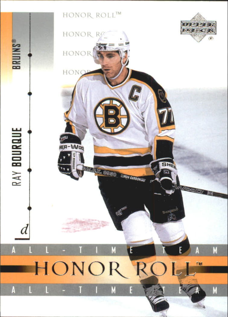 2001-02 Upper Deck Honor Roll #5 Ray Bourque