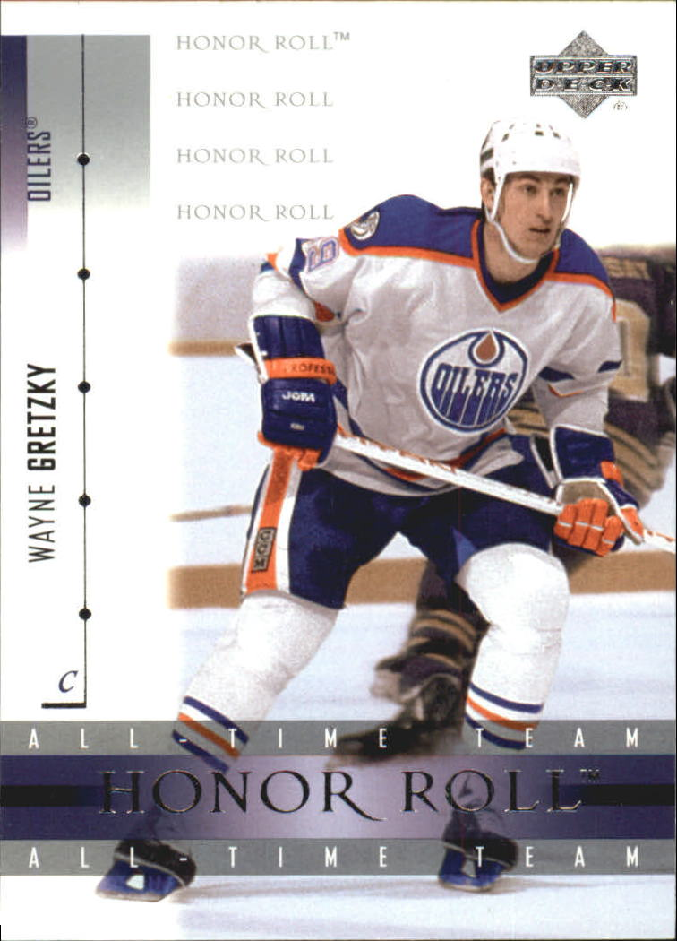 2001-02 Upper Deck Honor Roll #32 Wayne Gretzky