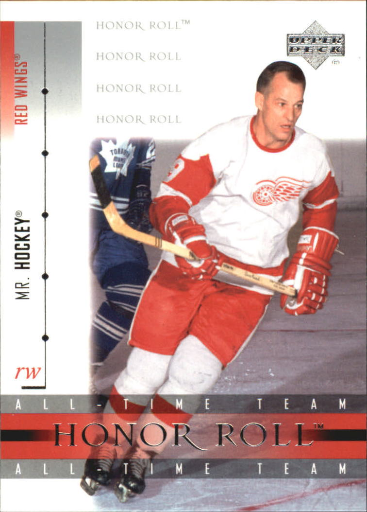 2001-02 Upper Deck Honor Roll #33 Gordie Howe