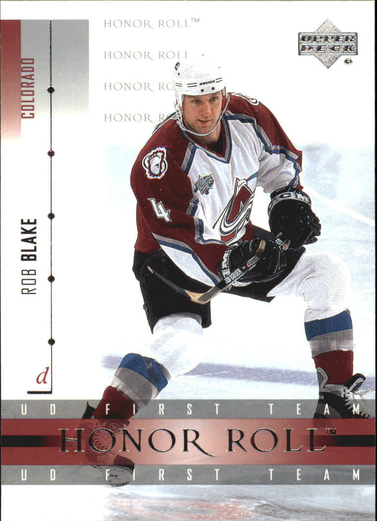 2001-02 Upper Deck Honor Roll #41 Rob Blake