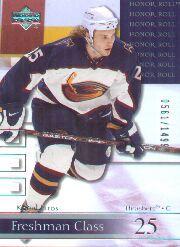 2001-02 Upper Deck Honor Roll #63 Kamil Piros RC