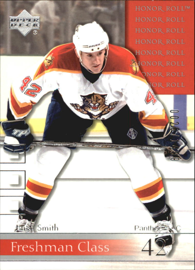 2001-02 Upper Deck Honor Roll #74 Nick Smith RC