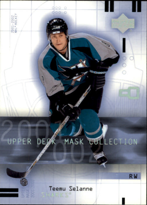 2001-02 UD Mask Collection #82 Teemu Selanne