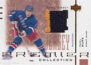 2001-02 UD Premier Collection Jerseys #BBU Pavel Bure B