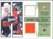 2001-02 Upper Deck Vintage Next In Line #NLSC Billy Smith/Roman Cechmanek