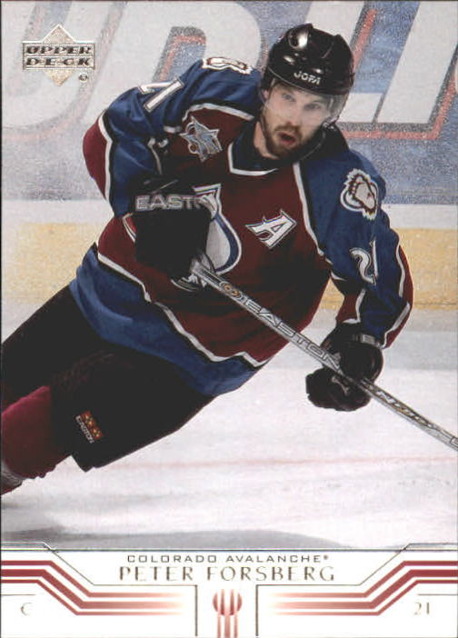 2001-02 Upper Deck #47 Peter Forsberg