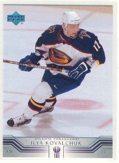 2001-02 Upper Deck #242 Ilya Kovalchuk