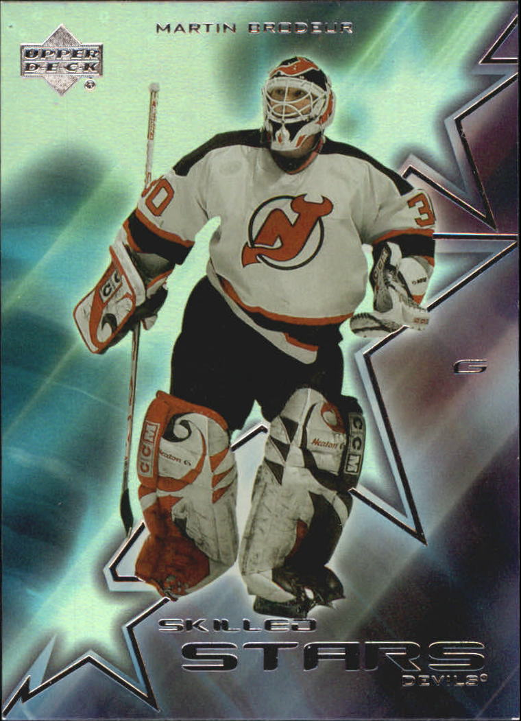 2001-02 Upper Deck Skilled Stars #SS11 Martin Brodeur