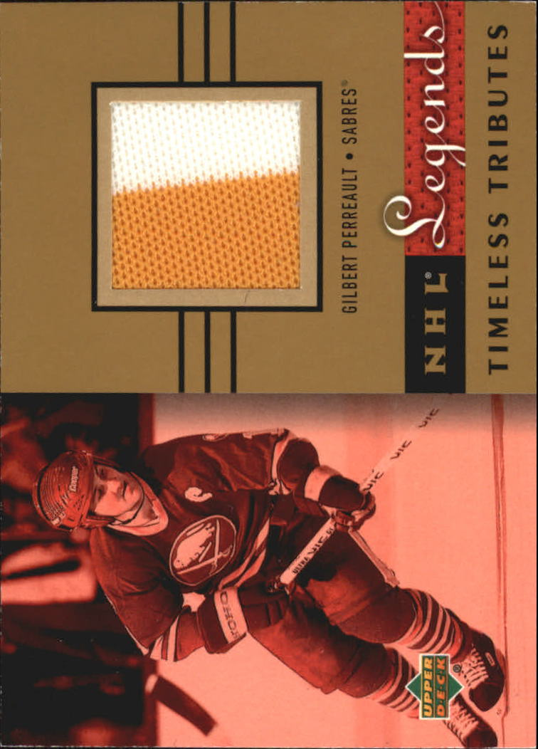 2001-02 Upper Deck Legends Timeless Tributes Jerseys #TTGP Gilbert Perreault