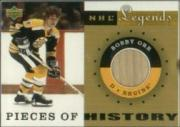 2001-02 Upper Deck Legends Pieces of History Sticks #PHBO Bobby Orr