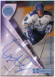 2001-02 UD Prospects Autographs #ADM Duncan Milroy