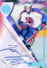 2001-02 UD Prospects Autographs #AJS Jason Spezza