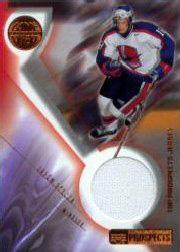 2001-02 UD Prospects Jerseys #JWA Jason Spezza