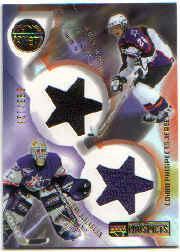 2001-02 UD Prospects Jerseys #CBD Dan Blackburn/Duncan Milroy