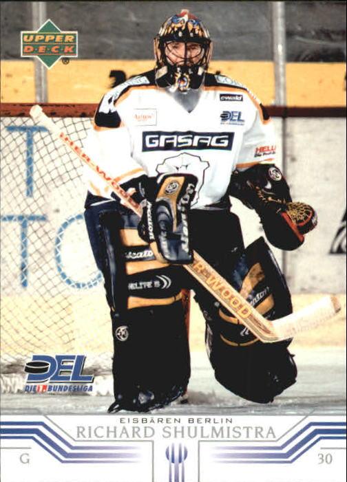 2001-02 German DEL Upper Deck #43 Richard Shulmistra