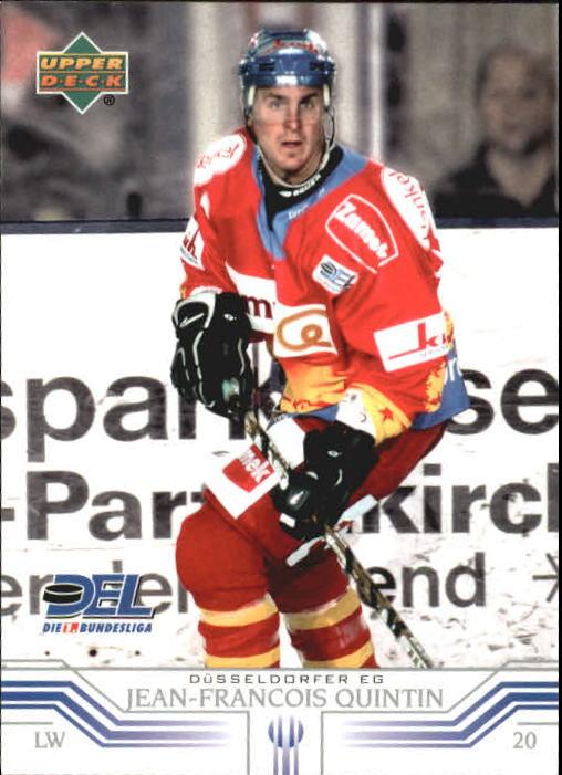 2001-02 German DEL Upper Deck #55 Jean-Francois Quintin