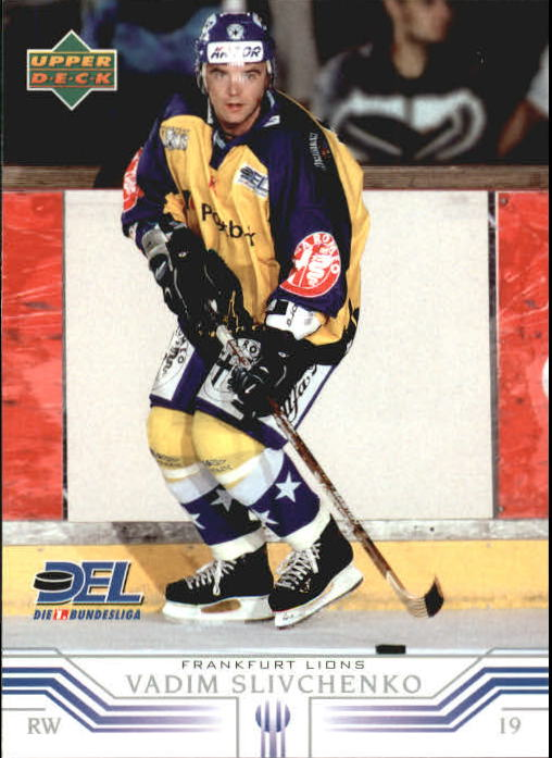 2001-02 German DEL Upper Deck #87 Vadim Slivchenko