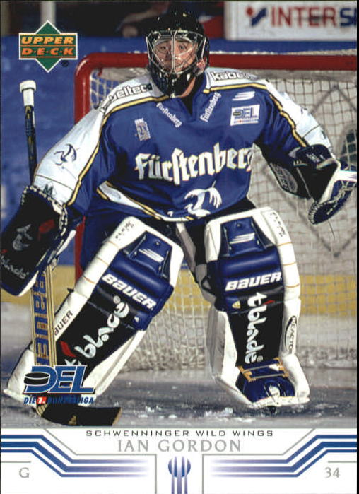 2001-02 German DEL Upper Deck #231 Ian Gordon