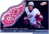 2002-03 Atomic #107 Henrik Zetterberg RC