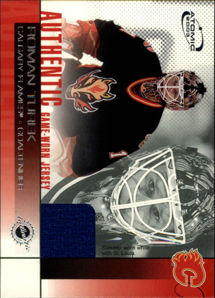 2002-03 Atomic Jerseys #2 Roman Turek