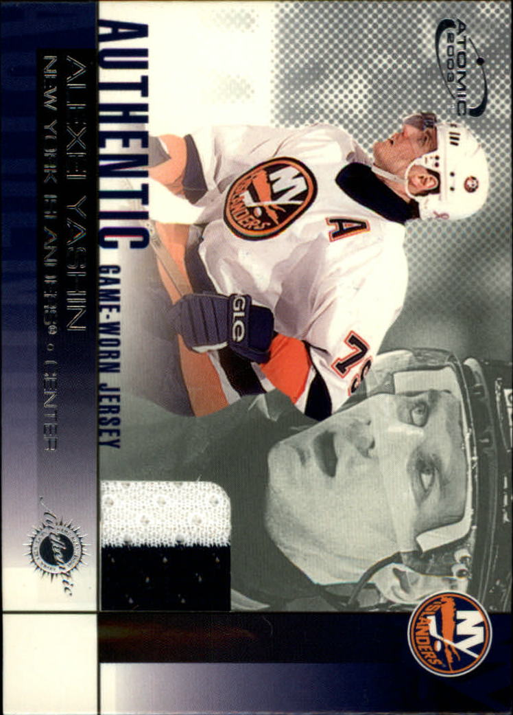 2002-03 Atomic Jerseys #14 Alexei Yashin
