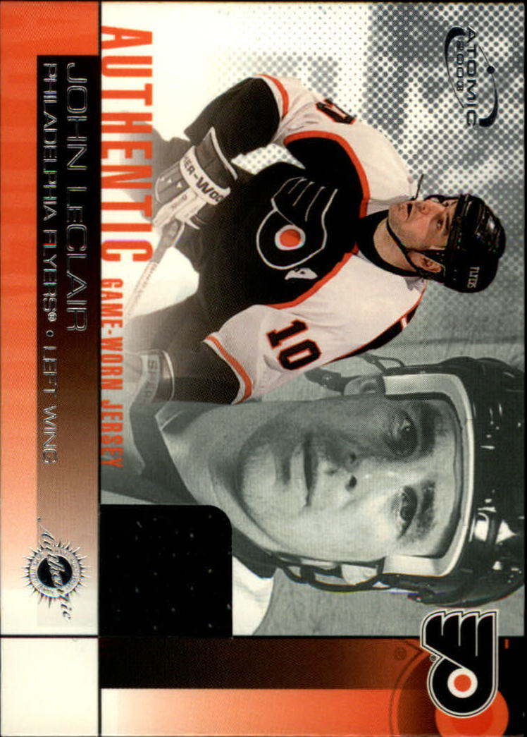 2002-03 Atomic Jerseys #17 John LeClair
