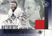 2002-03 Atomic Jerseys #22 Tom Barrasso