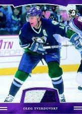 2002-03 BAP First Edition Jerseys #48 Oleg Tverdovsky