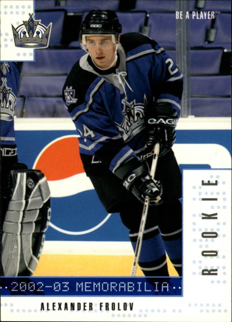 2002-03 BAP Memorabilia Sapphire #287 Alexander Frolov