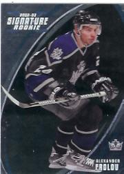 2002-03 BAP Signature Series #192 Alexander Frolov RC