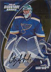 2002-03 BAP Signature Series Autographs Gold #178 Curtis Sanford