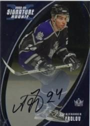 2002-03 BAP Signature Series Autographs Gold #192 Alexander Frolov