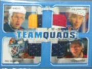 2002-03 BAP Signature Series Team Quads #TQ12 Dany Heatley/Ilya Kovalchuk/Pasi Nurminen/Patrik Stefan