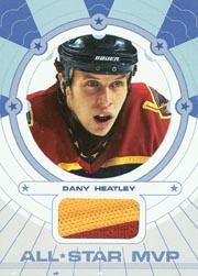 2002-03 BAP Ultimate Memorabilia All-Star MVP #5 Dany Heatley