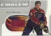 2002-03 BAP Ultimate Memorabilia Emblems #5 Dany Heatley