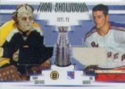 2002-03 BAP Ultimate Memorabilia Finals Showdown #13 Gerry Cheevers/Rod Gilbert
