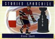 2002-03 BAP Ultimate Memorabilia Storied Franchise #21 Steve Shutt