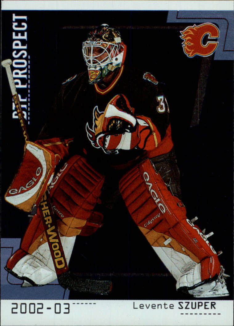 2002-03 Between the Pipes #102 Levente Szuper RC