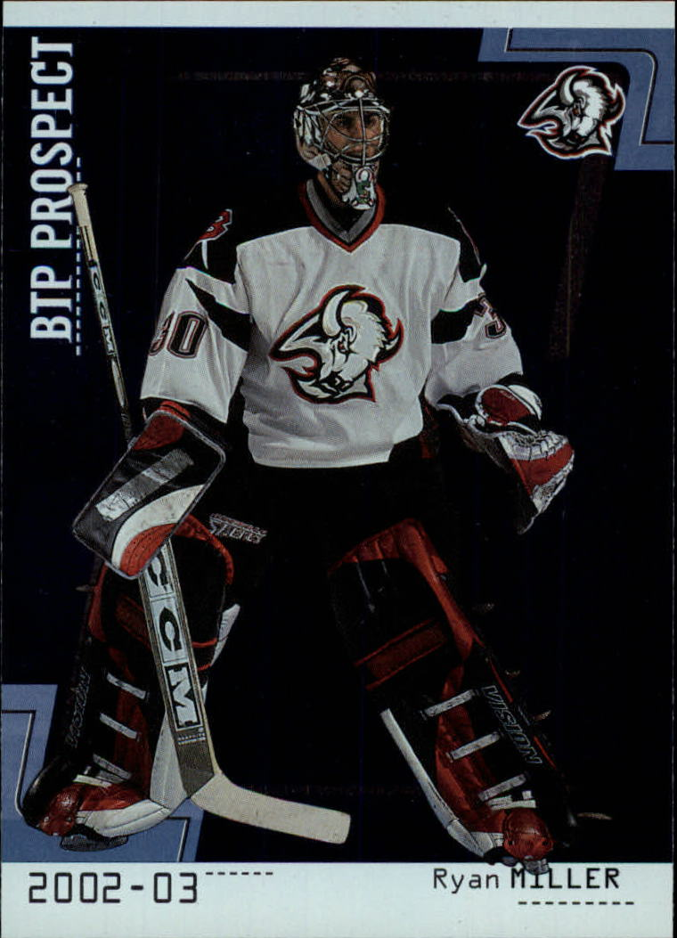 2002-03 Between the Pipes #105 Ryan Miller RC