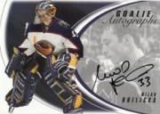 2002-03 Between the Pipes Goalie Autographs #8 Milan Hnilicka/50*