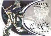 2002-03 Between the Pipes Goalie Autographs #10 Brent Johnson/50*