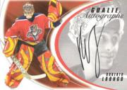 2002-03 Between the Pipes Goalie Autographs #15 Roberto Luongo/50*