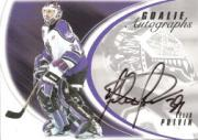 2002-03 Between the Pipes Goalie Autographs #18 Felix Potvin/50*