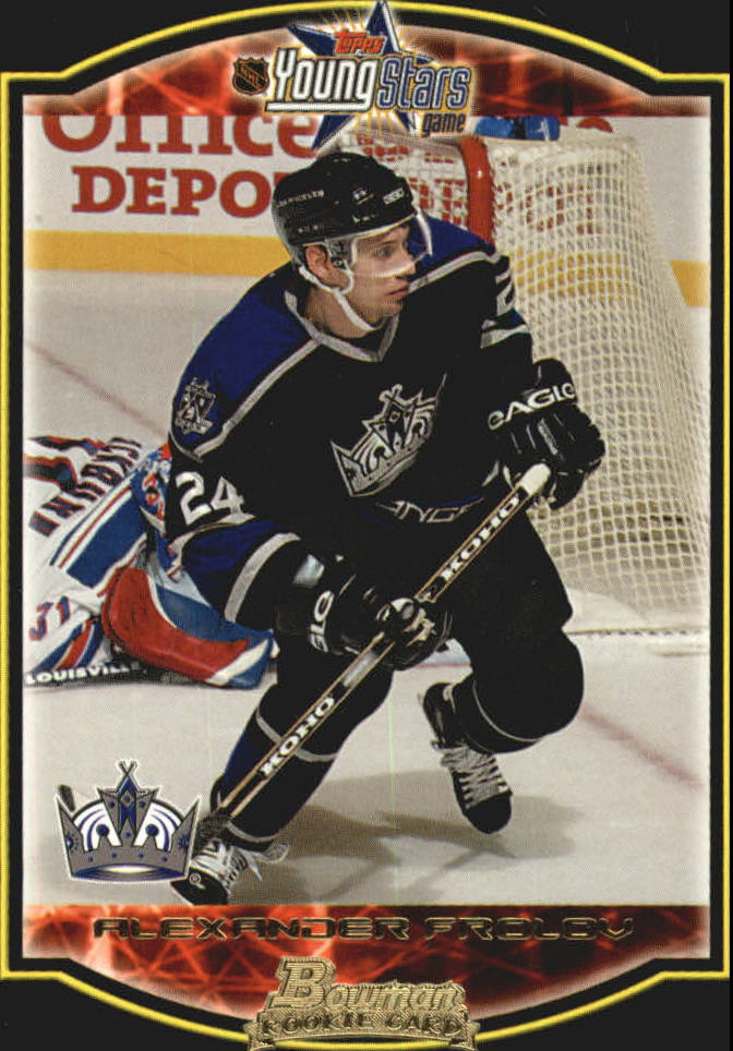 2002-03 Bowman YoungStars #124 Alexander Frolov RC
