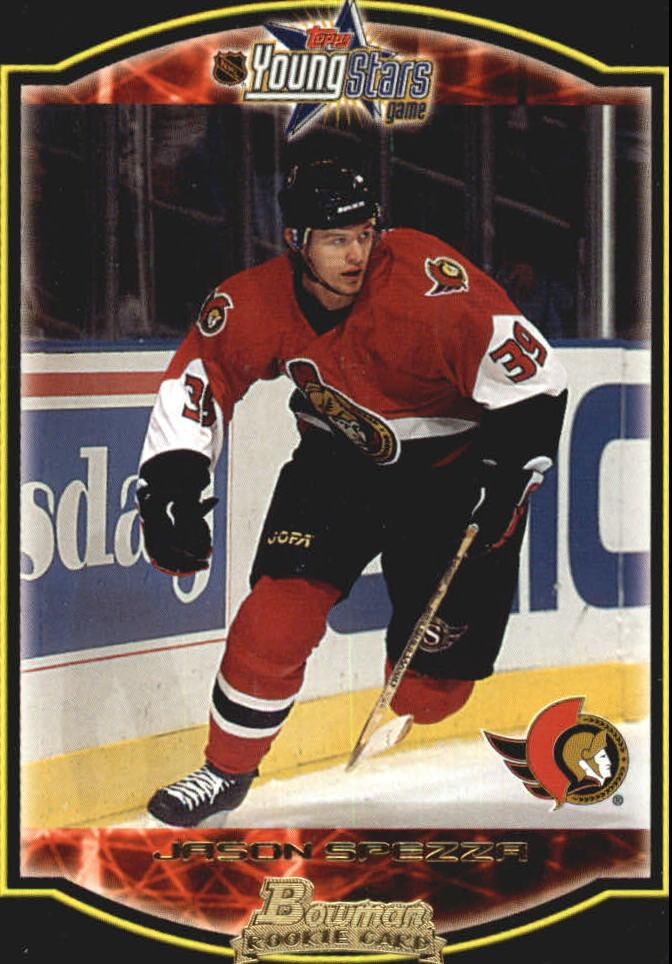 2002-03 Bowman YoungStars #126 Jason Spezza RC