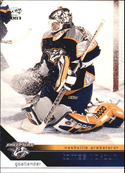 2002-03 Pacific #215 Tomas Vokoun