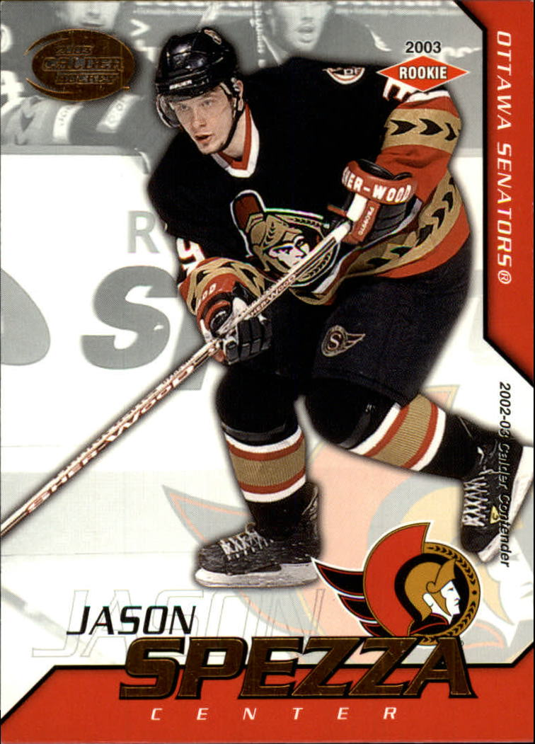 2002-03 Pacific Calder #133 Jason Spezza RC